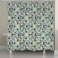 Laural Home Sun and Moon Shower Curtain (71-inch x 74-inch)