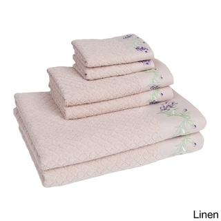 Eileen West Enchanted Iris 6-piece Towel Set
