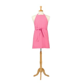 Two Pocket Petal Pink Cotton Canvas Chef's Apron