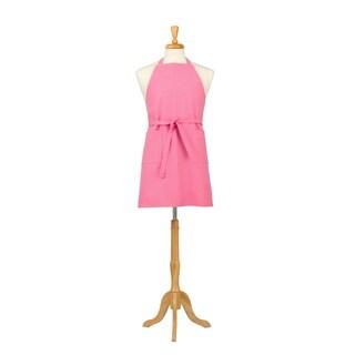 Two Pocket Petal Pink Cotton Canvas Chef's Apron