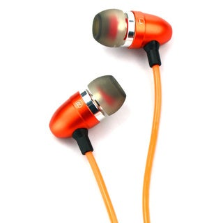 Light-up Orange Ear Bud Headphones