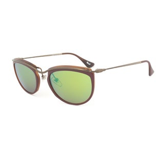 Persol PO3082S 1006/07 Sunglasses in Red and Matte Havana Frame and Brown Mirror Gold Lenses