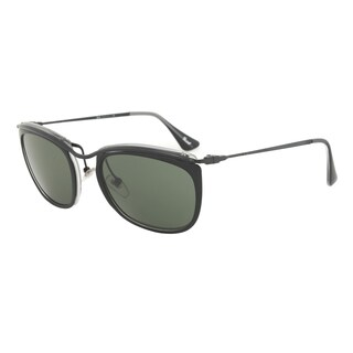 Persol PO3081S 1004/31 Sunglasses in Black and Matte Crystal Frame and Grey Lenses
