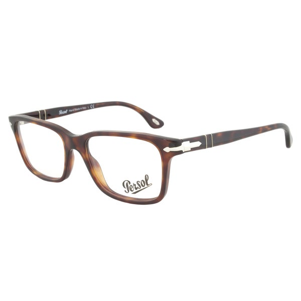 Eyeglasses Frames By Size : Persol PO3030V 24 Eyeglasses Frame in Color Havana Size 52 ...