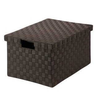Honey-Can-Do Large Woven File Box