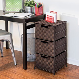 Honey-Can-Do 3-Drawer Wheeled Cart