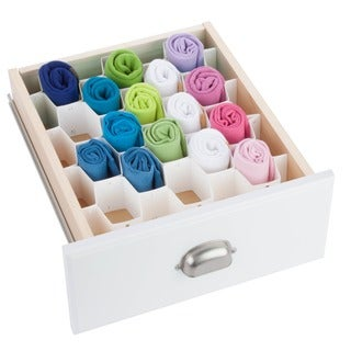 32 compartment drawer organizer