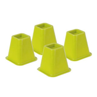 bed risers - green set of 4