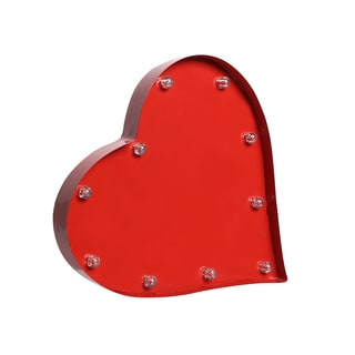 Order Home Collection 8in. Decorative LED Marquee Heart Sign