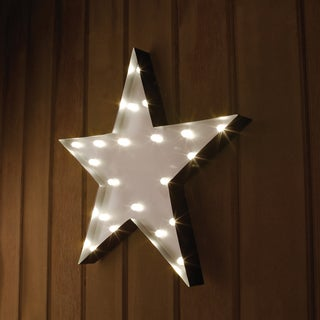 Apothecary & Company 20in. Marquee Sign with LED Star Symbol