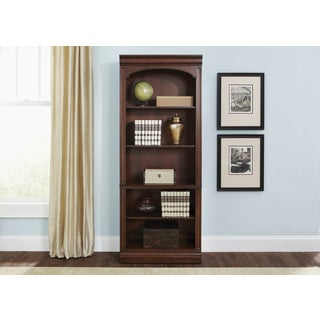 Brayton Manor Cherry 5-Shelf Bookcase