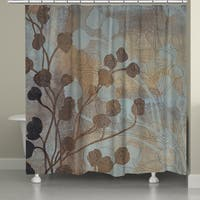 Laural Home Bronze Gold Spa Shower Curtain (71-inch x 74-inch)
