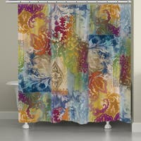 Laural Home Colorful Nights Shower Curtain (71-inch x 74-inch)