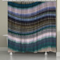 Laural Home Colorful Rhythms II Shower Curtain (71-inch x 74-inch)