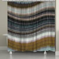 Laural Home Colorful Rhythms III Shower Curtain (71-inch x 74-inch)
