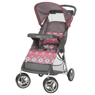 Cosco Lift and Stroll Convenience Stroller in Posey Pop