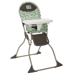Cosco Simple Fold High Chair in Elephant Squares (As Is Item)