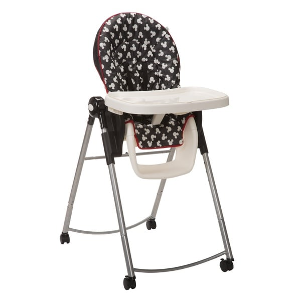 Shop Disney Adjustable High Chair In Mickey Silhouette