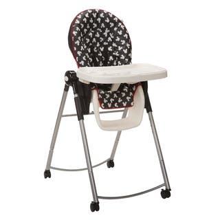 Disney AdjusTable High Chair in Mickey Silhouette|https://ak1.ostkcdn.com/images/products/10676239/P17740225.jpg?impolicy=medium