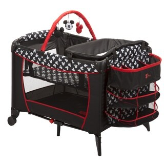 Disney Sweet Wonder Play Yard in Mickey Silhouette