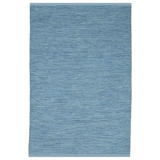 Indian Cancun Blue Rug (6' x 9')