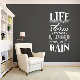 Link to Learning to Dance in the Rain (18-inch x 36-inch) Similar Items in Vinyl Wall Art