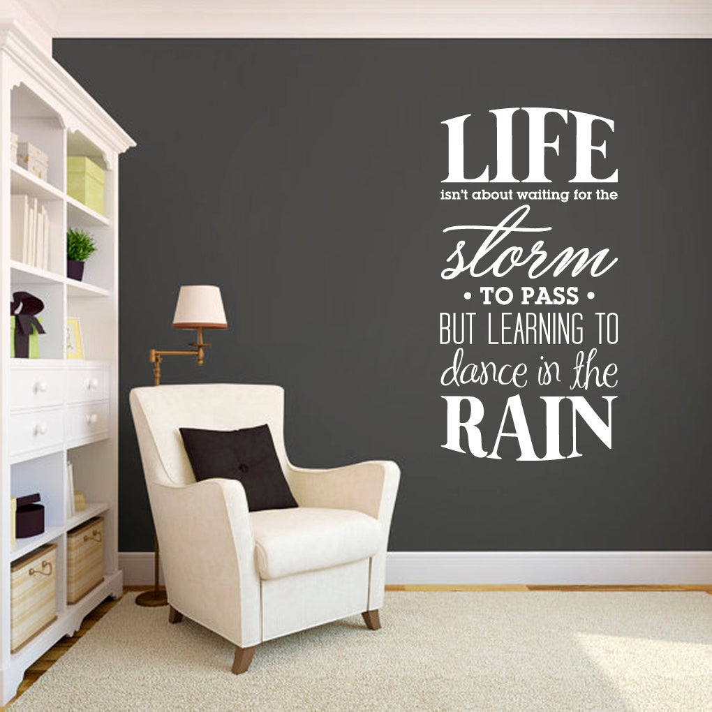 Sweetums Learning to Dance in the Rain (24-inch x 48-inch...