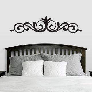 Link to Elegant Accent Scroll Wall Decal (66-inch x 15-inch) Similar Items in Vinyl Wall Art
