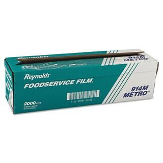 Reynolds Wrap Metro Light-Duty Clear PVC Film Roll w/Cutter Box
