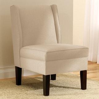 Skyline Furniture Linen Sandstone Wingback Chair