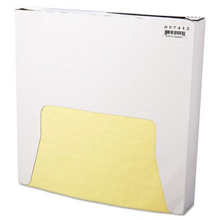 Bagcraft Papercon Yellow Grease-Resistant Wrap/Liners (5 Packs of 1000 Sheets)