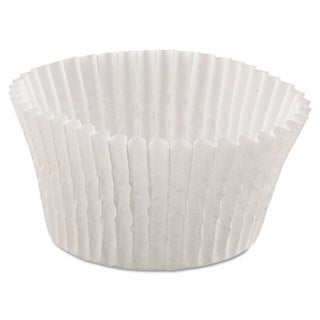 Hoffmaster Fluted White Bake Cups (20 Packs of 500 Cups)