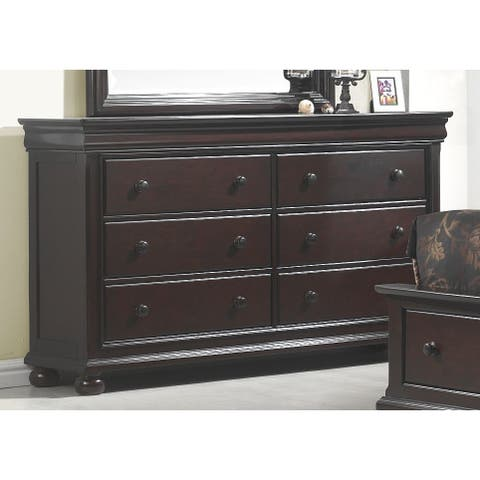 Hampton Court Dresser and Optional Mirror by Greyson Living