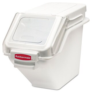 Rubbermaid Commercial White ProSave Shelf Ingredient Bin