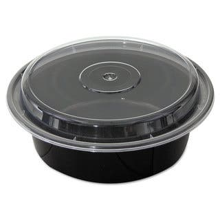 Pactiv Black/Clear VERSAtainers (Pack of 150)|https://ak1.ostkcdn.com/images/products/10676527/P17740449.jpg?impolicy=medium