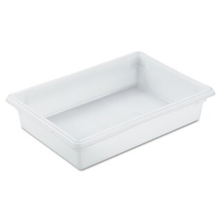 Rubbermaid Commercial White Food/Tote Box