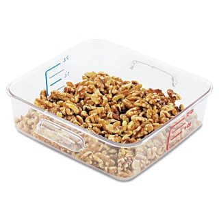Rubbermaid Commercial SpaceSaver Clear Square Container