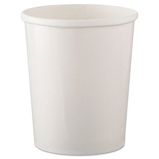 SOLO Cup Company Flexstyle White Double Poly Paper Containers (20 Packs of 25 Containers)