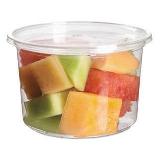 Eco-Products Round Clear Deli Containers (Pack of 500)