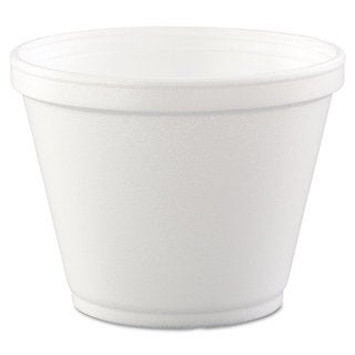 Dart White Foam Food Containers (20 Packs of 25 Containers)
