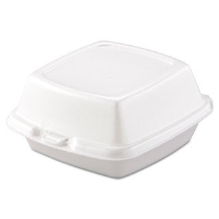 Dart Carryout White Foam Food Containers (Pack of 500)