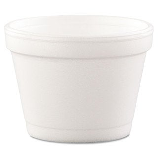 Dart Foam White Bowl Containers (Box of 1000)