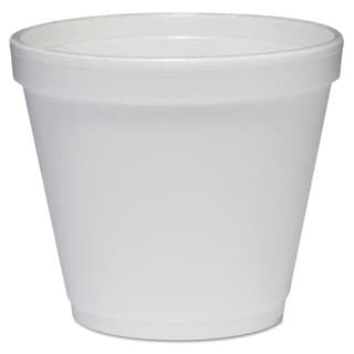 Dart White Foam Food Containers (Pack of 1000)