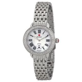 Michele Women's MWW21E000001 'Serein' Diamond Stainless Steel Watch
