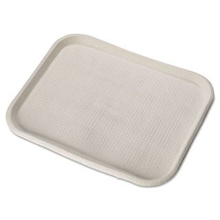 Chinet Savaday White Molded Fiber Food Trays (Pack of 100)