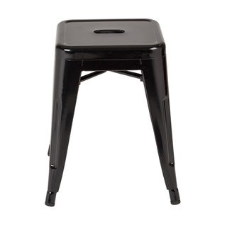 Link to 18 Inch Fully Assembled Metal Backless Stool Set of 4 Similar Items in Dining Room & Bar Furniture