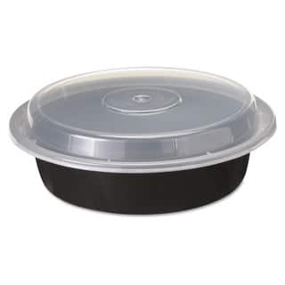 Pactiv Black/Clear VERSAtainers (Pack of 150)|https://ak1.ostkcdn.com/images/products/10676751/P17740870.jpg?impolicy=medium
