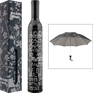 Trademark Home Wine Bottle Umbrella (2 options available)