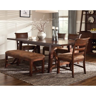 Janes Gallerie Bench Creek Rustic 6-piece Dining Set