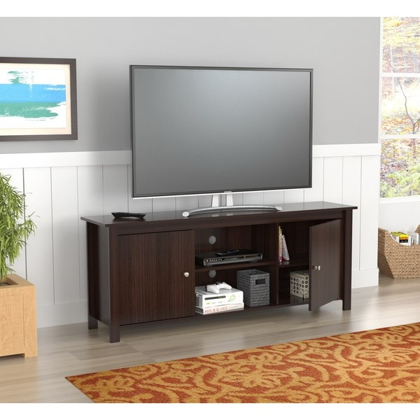 Shop Inval 60 Inch Espresso Tv Stand On Sale Free Shipping Today